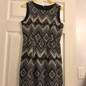 Jcrew geometric dress